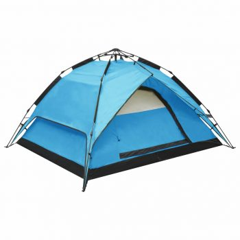 Prigodni šator za kampiranje za 2-3 osobe 240x210x140 cm plavi