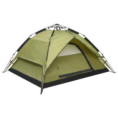 Prigodni šator za kampiranje za 2-3 osobe 240x210x140 cm zeleni