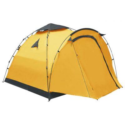 Prigodni šator za kampiranje za 3 osobe žuti