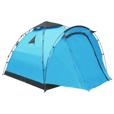 Prigodni šator za kampiranje za 3 osobe plavi