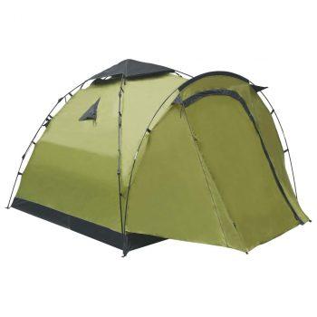 Prigodni šator za kampiranje za 3 osobe zeleni