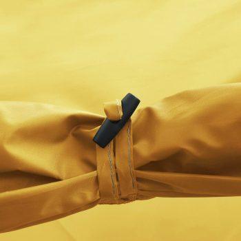 Tunelski šator za kampiranje za 4 osobe žuti