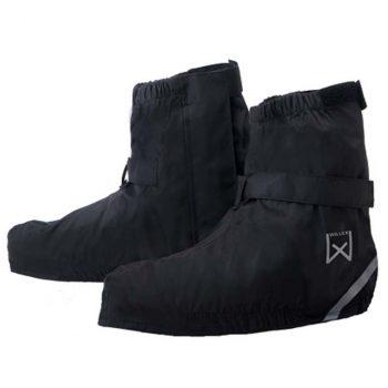 Willex navlake za cipele za bicikl kratke 44 - 48 crne