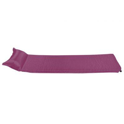 Zračni madrac na napuhavanje s jastukom 55 x 185 cm ružičasti