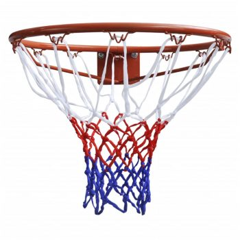 Košarkaški Obruč s Narančastom Mrežom 45 cm