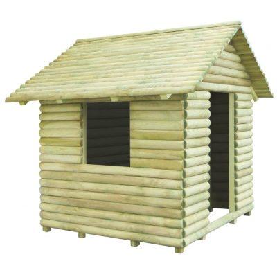 Kućica za igru od impregnirane borovine 167 x 150 x 151 cm