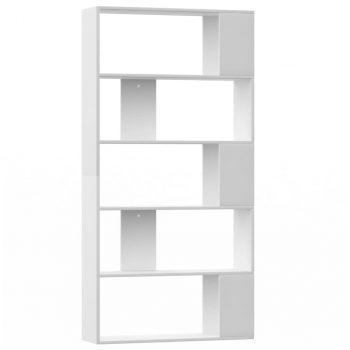 Ormarić za knjige / sobna pregrada bijeli 80x24x159 cm iverica