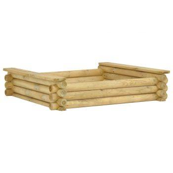 Pješčanik 120 x 120 x 27 cm od impregnirane borovine