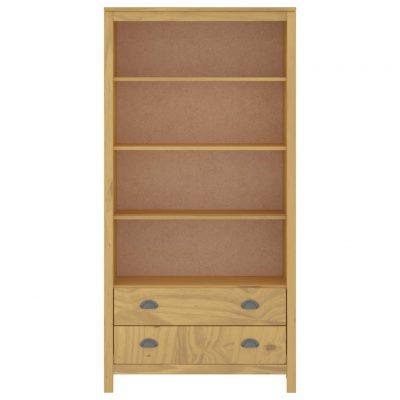 Police za knjige Hill Range boja meda 85x37x170
