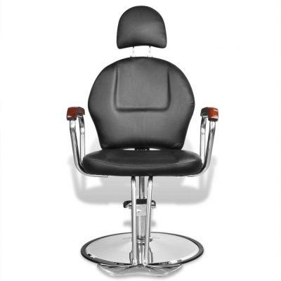 Profesionalna brijačka stolica s uzglavljem od umjetne kože