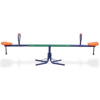Rotirajuća klackalica 360 stupnjeva narančasta
