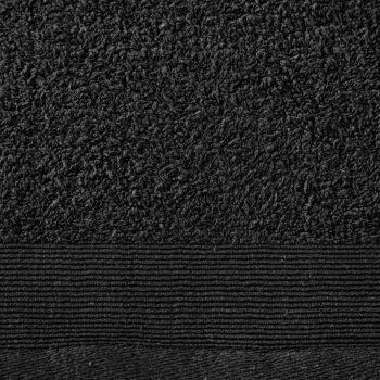 Ručnici za saunu 2 kom pamučni 450 gsm 80 x 200 cm crni