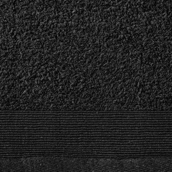 Ručnici za tuširanje 2 kom pamučni 450 gsm 70 x 140 cm crni
