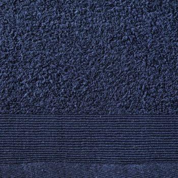 Set kupaonskih ručnika 2 kom pamučni 450 gsm 100 x 150 cm modri