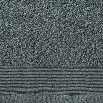 Set kupaonskih ručnika 5 kom pamučni 450 gsm 100x150 cm zeleni