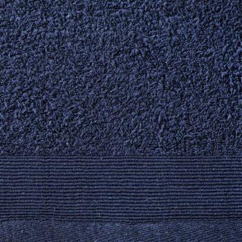 Set ručnika za saunu 2 kom pamučni 450 gsm 80 x 200 cm modri