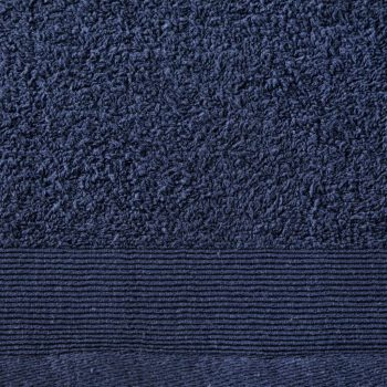 Set ručnika za tuširanje 2 kom pamučni 450 gsm 70x140 cm modri