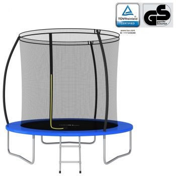 Set trampolina okrugli 244 x 55 cm 100 kg