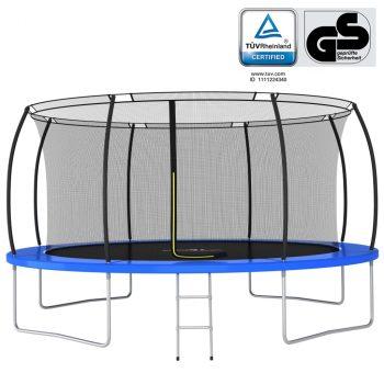 Set trampolina okrugli 460 x 80 cm 150 kg