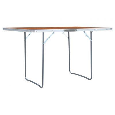 Sklopivi stol za kampiranje aluminijski 180 x 60 cm