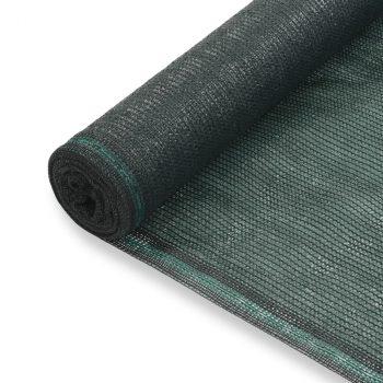 Teniski zaslon HDPE 1 x 25 m zeleni