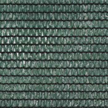 Teniski zaslon HDPE 2 x 25 m zeleni