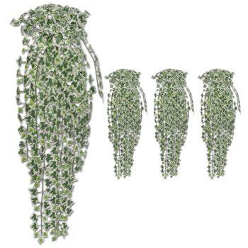Umjetni grmovi bršljana 4 kom raznobojni 90 cm