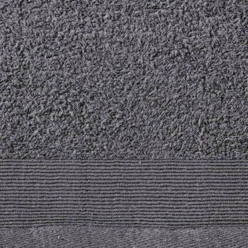 12-dijelni set ručnika pamučni 450 gsm antracit