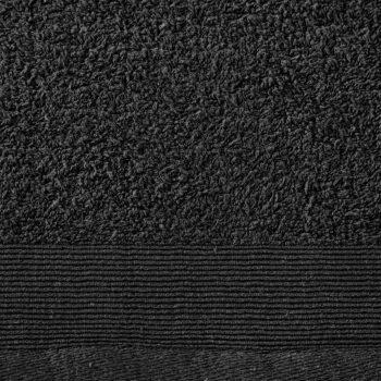 12-dijelni set ručnika pamučni 450 gsm crni