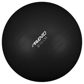 Avento lopta za vježbanje/teretanu promjer 55 cm crna