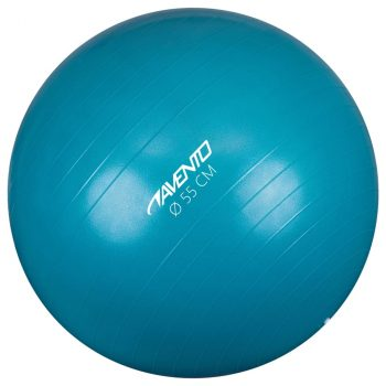 Avento lopta za vježbanje/teretanu promjer 55 cm plava