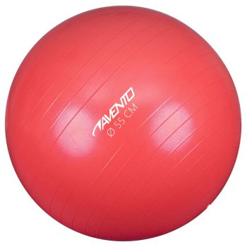 Avento lopta za vježbanje/teretanu promjer 55 cm ružičasta