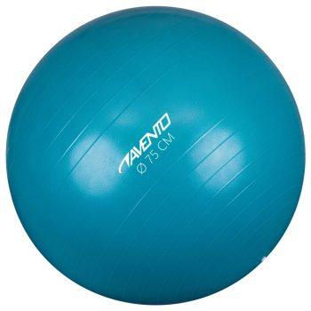 Avento lopta za vježbanje/teretanu promjer 75 cm plava