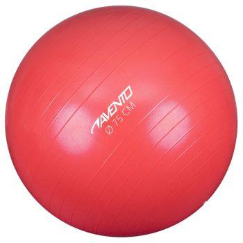 Avento lopta za vježbanje/teretanu promjer 75 cm ružičasta