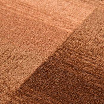 Dugi tepih na bež pravokutnike s gelastom podlogom 67 x 400 cm