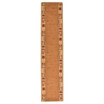 Dugi tepih s gelastom podlogom bež 67 x 250 cm