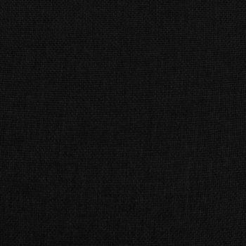 Masažni naslonjač na podizanje od tkanine crni