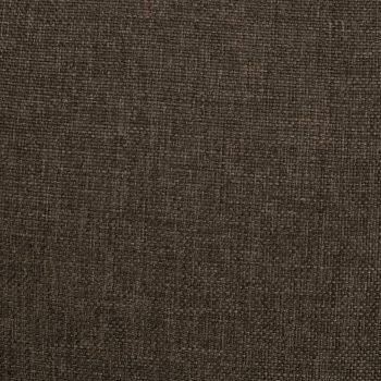 Masažni naslonjač na podizanje od tkanine smeđi