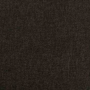 Masažni naslonjač na podizanje od tkanine tamnosmeđi
