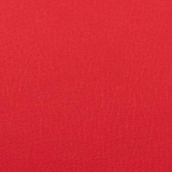 Naslonjač od umjetne kože crveni