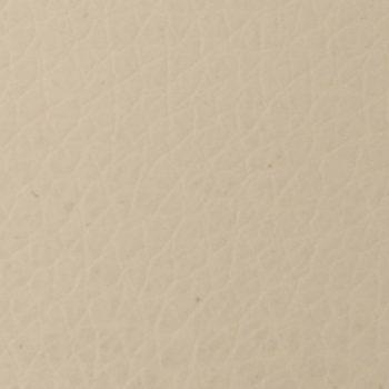 Naslonjač od umjetne kože krem bijeli