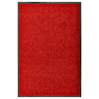 Otirač perivi crveni 60 x 90 cm