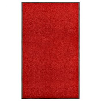Otirač perivi crveni 90 x 150 cm