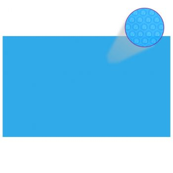Pravokutni pokrivač za bazen 1000 x 600 cm PE plavi