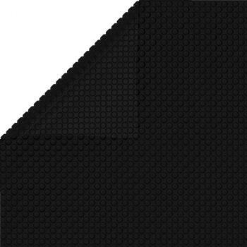 Pravokutni pokrivač za bazen 1200 x 600 cm PE crni