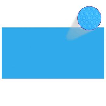 Pravokutni pokrivač za bazen 1200 x 600 cm PE plavi