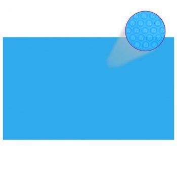 Pravokutni pokrivač za bazen 500 x 300 cm PE plavi