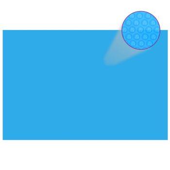 Pravokutni pokrivač za bazen 600 x 400 cm PE plavi