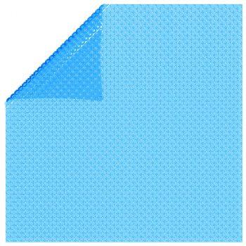 Pravokutni pokrivač za bazen 800 x 500 cm PE plavi