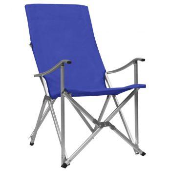 Sklopive stolice za kampiranje 2 kom plave